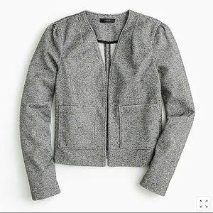 J. Crew 365 Boucle Black & White Blazer Jacket